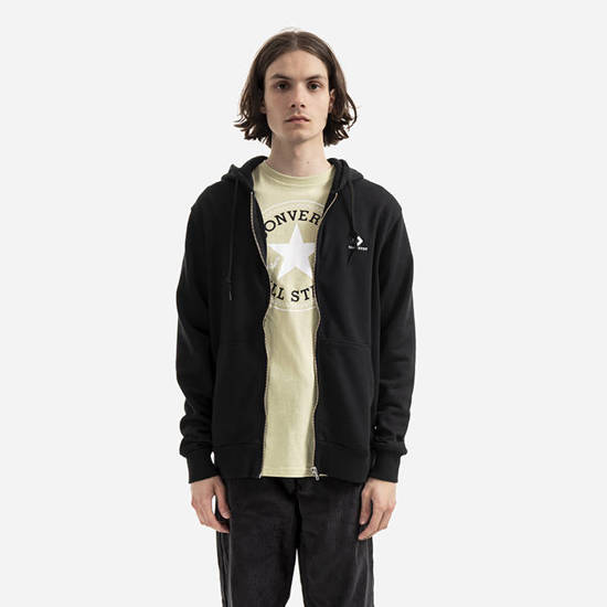 Converse Embroidered Fz Hoodie Ft 10020341-A01