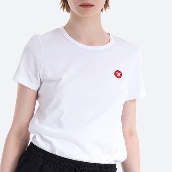 T-shirt Wood Wood Uma 10002500-2222 BRIGHT WHITE